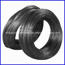 25kg / bobina de fio de alta resistência preto recozido