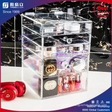 Boîte d'exposition OEM Acrylic Cosmetic Makeup Organizer