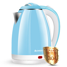 Amazon Supplier 1.8L Household Vintage Stainless Steel Water Boiler Electric Kettle