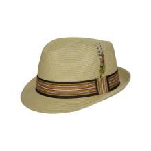 Индивидуальная соломенная шляпка с поясом, напечатанным для карнавала (FS0002)