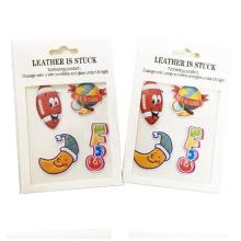 3D cambiante etiqueta de tatuaje de color mágico pegatinas removibles papel a4