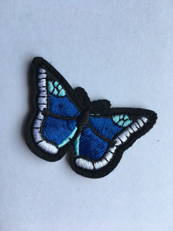 Patches Embroidery Butterfly