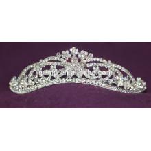 High Quality Charming New Designed Wedding Tiara Custom Crystal Crowns