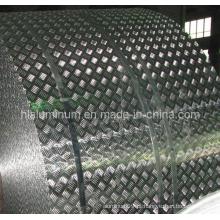 Padrão de cerâmica Checkered Plate Aluminum for Decoration in China