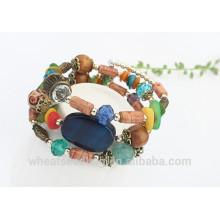Vente en gros Fahion Bracelet coloré en acrylique Afete Bracelet coloré