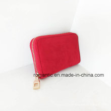 Brand Designer Fashion Lady Fake Suede Wallet (NMDK-050601)