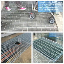 Galvanised Trench Steel Floor Grating, Galvanized Trench Cover