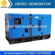 Juego de generador diesel silencioso de buen precio, grupo electrógeno diesel silencioso 400V / 230V