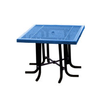 Carbon Steel Table and Chairs