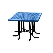 Стол и стулья из углеродистой стали