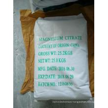 food additives magnesium citrate manufacturer
