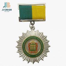 Бесплатный дизайн литья сплавов серебра изготовленный на заказ медальон металла трофеи медаль чести