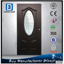 Безопасная стальная стеклянная дверь в гостиную комнату