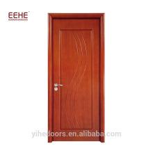 Italienisches Furnier-Blatt-hölzerne Tür-Entwurfs-hölzerne Gummitür