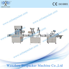 Automatic Filling Labeling and Tin Can Capping Machine