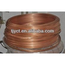 Tubo de cobre de bobina de panqueca