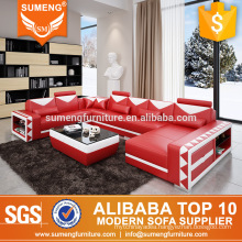 SUMENG Original best sell modern leather patchwork sofa