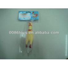 17 cm Roto PVC Shrilling Chicken Toy
