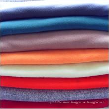 Plain Dyed Double-sided Brushed Polar Fleece Jersey Fabric