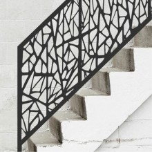 Laser Cut Stair Railing