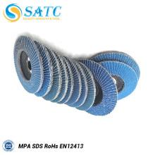 Disco da aleta do papel da areia da qualidade superior 100 * 16mm com o certificado ISO9001