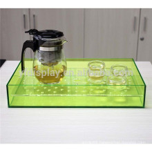Acrylic Tea Tray,Colorful Acrylic Tea Tray,Acrylic Glass Tea Tray