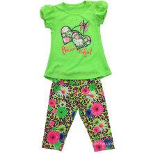 Traje de niña de verano para ropa infantil SGS-111