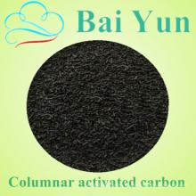 Ningxia carbón activado de la planta de fabricación de la planta 4mm carbón activado
