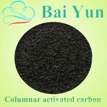 NingXia planta de fabricação de carbono ativado 4 milímetros pellets de carvão ativado
