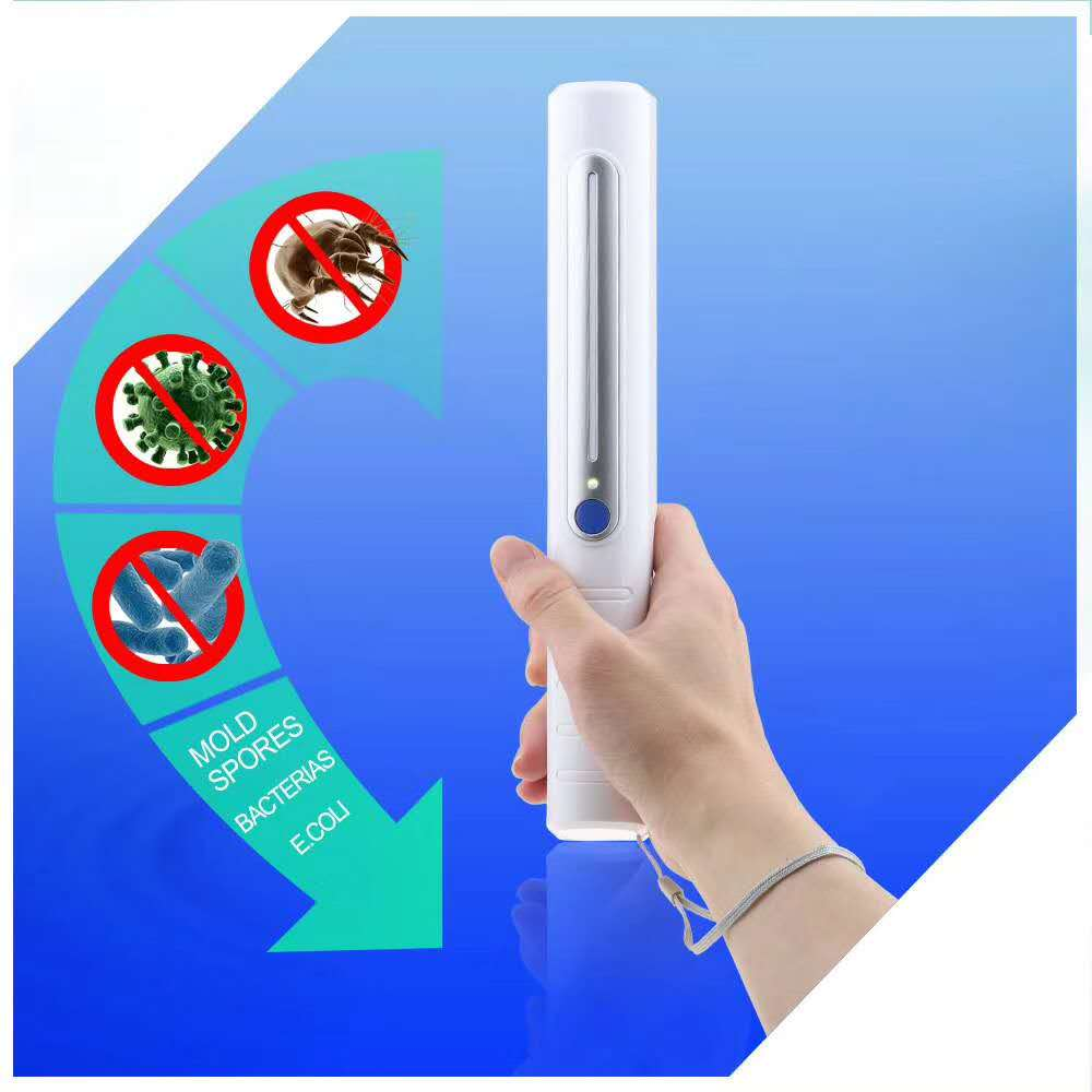 UVC Portable handheld disinfection lamp H08 01