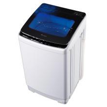 Lavadora automática de vidrio transparente negro 9KG