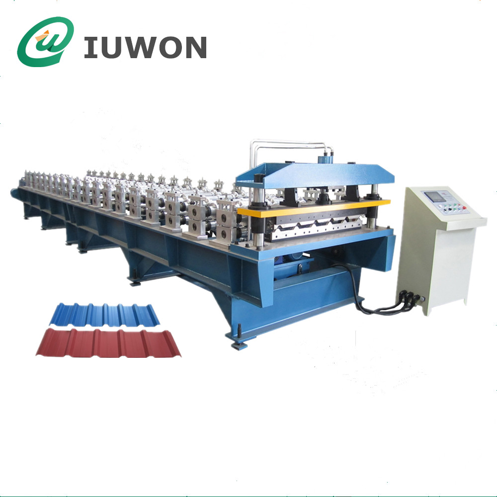Trapezoid Roof Panel Machine