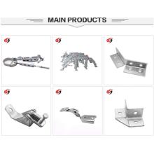 Kundenspezifische Gummi Rohraufhänger Stahl Gabelkopf Rohrschelle