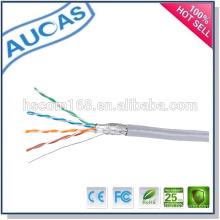 Heißer Verkauf Porzellan Fabrik Preis Amp sftp cat5e Netzwerk Ethernet Lan Kabel 1000ft 305m / Rolle