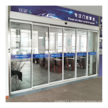 DEPER DBS50 automatic telescopic sliding door for office building