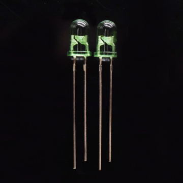 Super heller grüner 5mm LED Epistar Chip