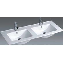 Bassin de salle de bains en céramique à vanité fine (1202E)