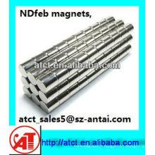 cylindre de forte aimant/magnétique