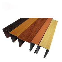free sample  incredible wooden grain baffle ceiling