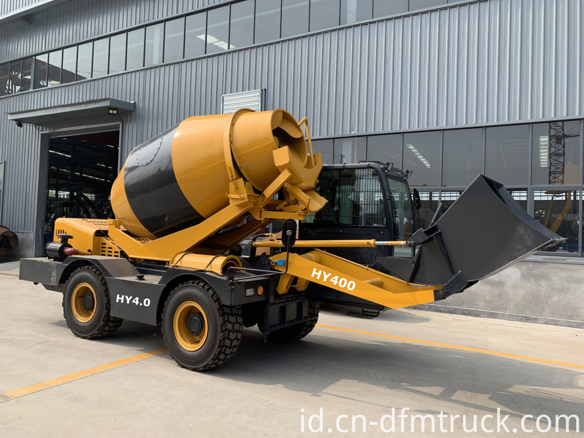 self-loading concrete mixer (2)