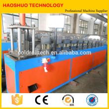 Máquina Formadora de Rolos de Calha para sistema de drenagem