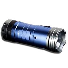 3X18650 Batt blaues und weißes LED-Fischen-Licht