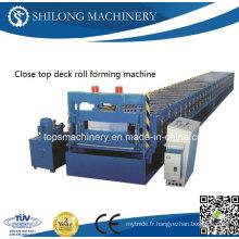 Machine de formage de rouleau de plancher d'acier à haute résistance approuvée CE