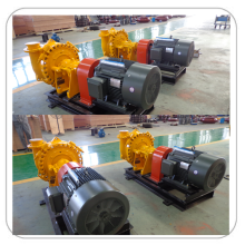 Grease Lubrication Metal Gravel Slurry Pump