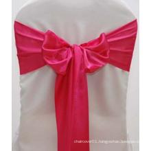 Hot Pink Silk Satin Sash for Wedding