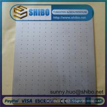 Feuille / plaque / feuille de molybdène (Mo) de meilleure qualité au prix d'usine