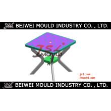 Moule de table en plastique carré d'injection