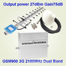 2g 3G Dual-Band Booster for GSM900 and WCDMA2100 Cell Phone Booster