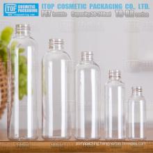 TB-BR Series 30ml 60ml 120ml 180ml 240ml high quality classical popular color customizable boston round pet bottles