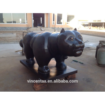 Chat Sculpture Bronze CLBS-Z114C